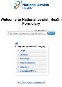 formulary